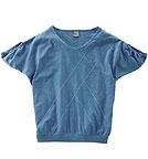 HempAge Fledermaus-Shirt aus Bio-Baumwolle und Hanf - sea