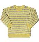 Living Crafts - Kids Kinder Gestreiftes Sweatshirt aus Bio-Baumwolle - curry-...