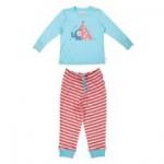 Frugi - Mädchen-Schlafanzug Elefant, kbA
