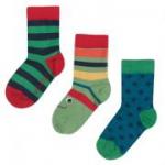 Frugi - 3er Pack Socken Jungs, kbA