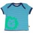 loud + proud - T-Shirt Löwe blau, kbA - Gr. 50/56
