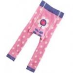 Piccalilly - Kinder-Leggins Blüte pink, kbA