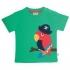 Frugi - T-Shirt Papagei grün, kbA