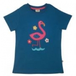 Frugi - T-Shirt Flamingo, kbA