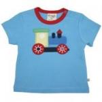Frugi - T-Shirt Lok blau, kbA