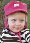 Pickapooh - Kinder-Mütze Carl aus Walk pink, kbT