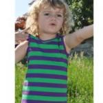 Katvig - Unterhemd lila-grün, kbA