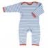 Organics for Kids - Strampler blau, kbA