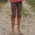 Kite Kids - braune 3/4 Leggings, kbA