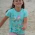 Kite Kids - fröhliches Shirt türkis, kbA