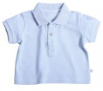 Liegelind - Poloshirt hellblau, kbA