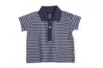 Liegelind - Ringel-Poloshirt dunkelblau-weiß, kbA