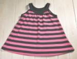 Katvig - Sommerkleid grau-pink, kbA