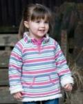 Frugi - Wende-Pullover mit bunten Streifen, kbA