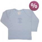 Lana - Schlupfhemd blau-weiß, kbA - Gr. 74/80