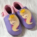 Pololo - Öko Babyschuhe Prinzessin