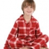 Kite Kids - Pyjama rot, kbA - Gr. 92/98