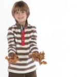 Kite Kids - Pullover braun-weiß, kbA