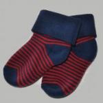loud + proud - dicke Socken blau-rot, kbA