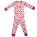 CPO - Schlafanzug Tiere Flanell rosa, kbA, Gr. 92