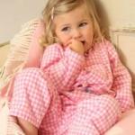 Piccalilly - Karo-Pyjama rosa, kbA