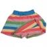 Frugi - Rock/Shorts-Kombi bunte Streifen, kbA