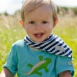 Cotton People Organic - T-Shirt Echse türkis/blau, kbA