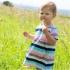 Cotton People Organic -  Kleid bunte Streifen, kbA