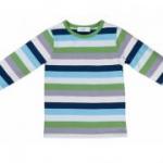 Cotton People Organic - Langarmshirt bunt gestreift, kbA
