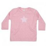 sense organics - Schlupfhemd Stern rosa, GOTS