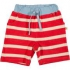Frugi - Baby-Frottee-Shorts rot-weiß, kbA
