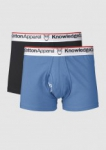 Underwear 2pack Solid/Owl Strong Blue  XL