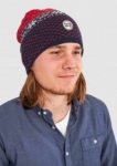 Rib Knit Hat Total Eclipse  One Size