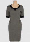 Sweat dress Matroesjka black  L