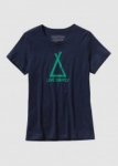 Tent Life Cotton Shirt Navy Blue  M