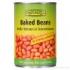 Baked Beans in der Dose (Weiße Bohnen in Tomatensauce) Bio 400g
