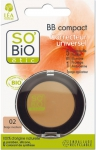 "SO?Bio étic BB Compact ""Correcteur universel"" - 02 beige medium"