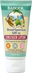 Badger Balm SPF 16 Sunscreen Lotion Aloe Vera