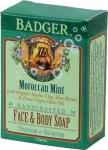 Badger Balm Moroccan Mint Face & Body Soap