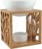 Farfalla Duftlampe Venus (Bambus/Keramik) - Duftlampe komplett
