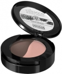 Lavera Beautiful Mineral Eyeshadow Duo - Caramel Coffee 01