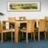 """Tisch """"Sala 01"""" (080/120cm, Kernbuche)"""