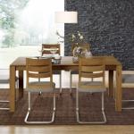 """Tisch """"Salvino"""" (ohne Auszug, 110/240cm, Wildeiche)"""