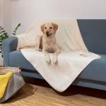 """Hunde-Decke """"Calina"""" (150/200cm, grau)"""