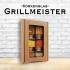 Grillmeister - Korkenglas Geschenkbox
