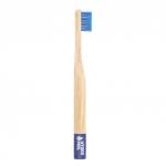 Bambus Kinderzahnbürste extraweich, blau