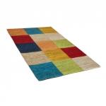 "Naturfaserteppich ""Karo"", multicolor"