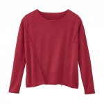 Pullover, himbeere