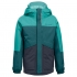 Kinder-Funktionsjacke, mint/blau