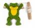 Spielzeug Krabbelfrosch an Seilen aus Holz für Kinder ab 3 Jahren